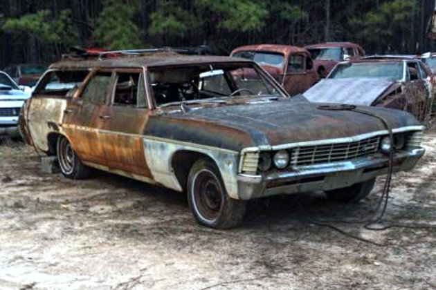 1967 Chevrolet Bel Air Wagon For 600