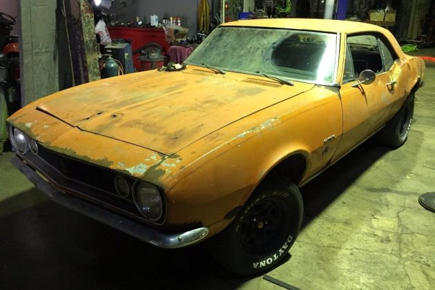 Basically Complete: 1967 Camaro