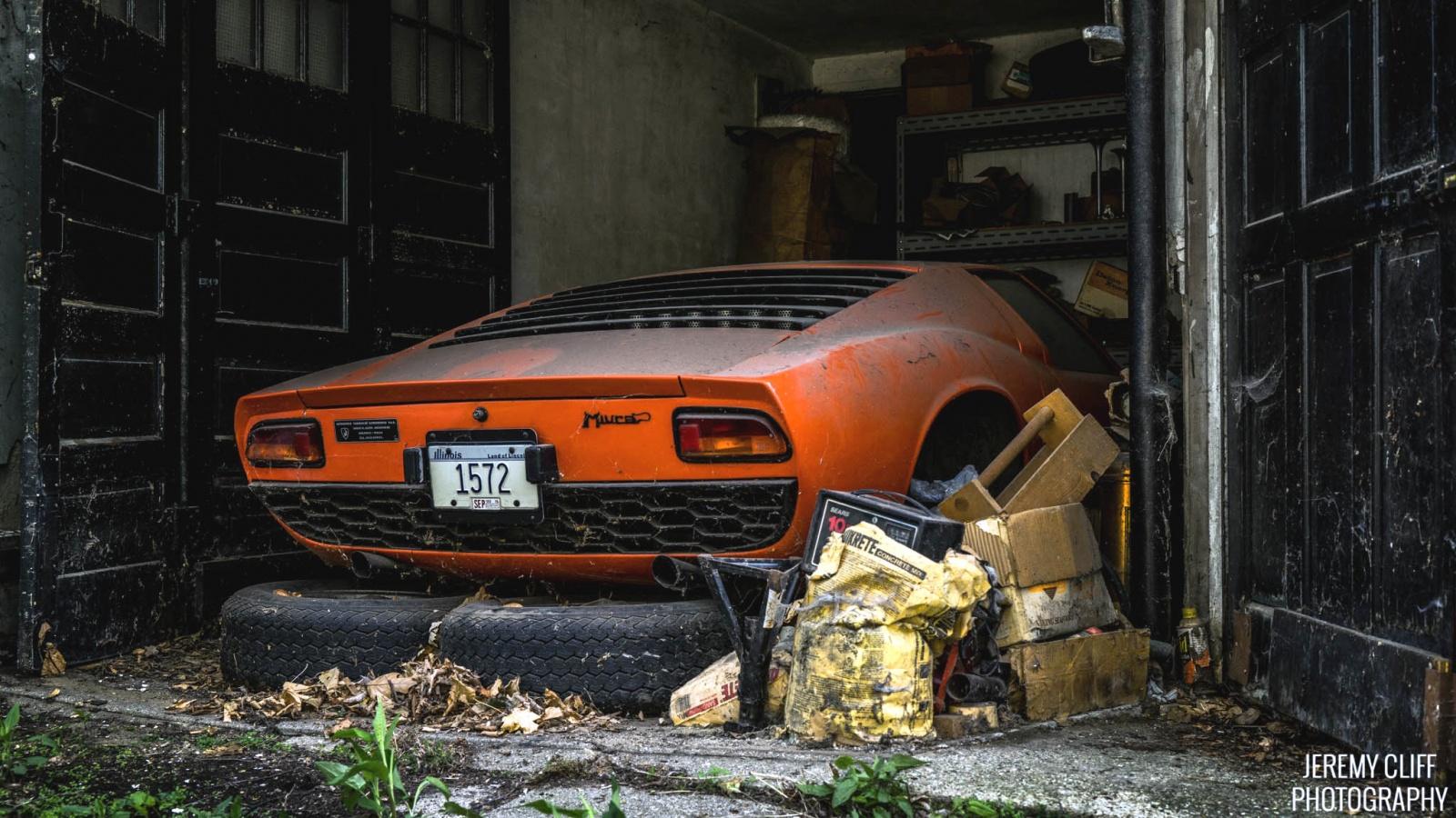 Inherited Bull 1967 Lamborghini Miura