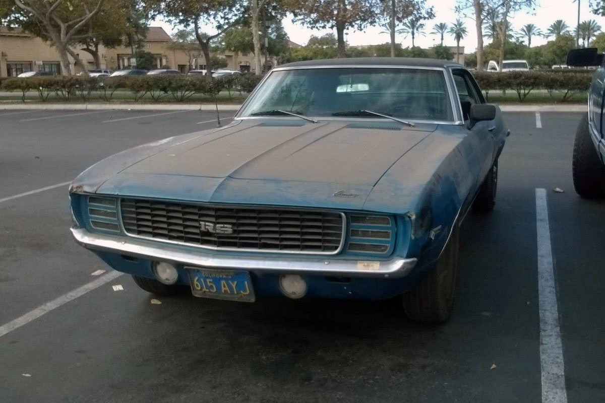 Dust Included 1969 Camaro Rs
