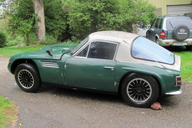 Rare British Project: 1969 TVR Vixen