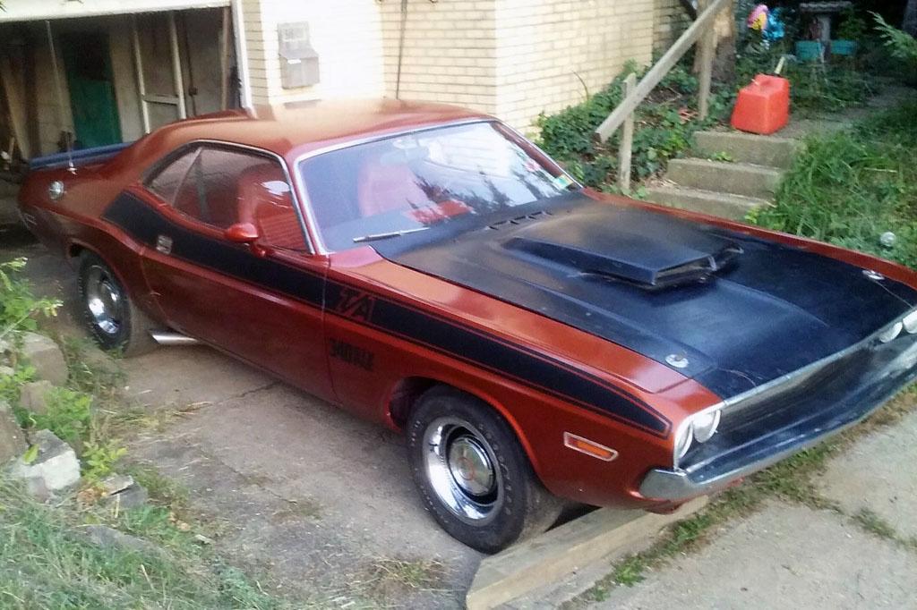 quarter mile car 1970 dodge challenger t a. Black Bedroom Furniture Sets. Home Design Ideas