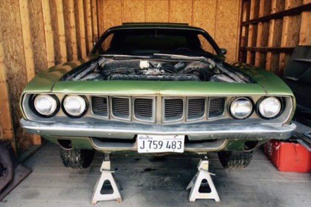 Barn Shaker: 1971 Plymouth Cuda 340