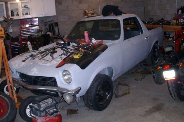 1972 Chevy Vegamino Project!
