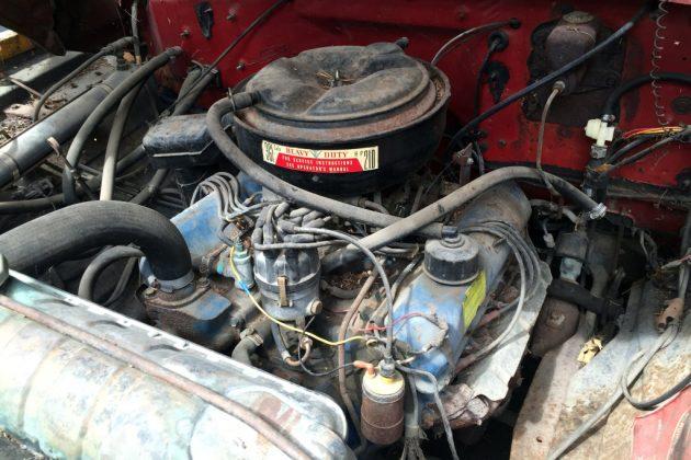 1972 Ford F700 Engine