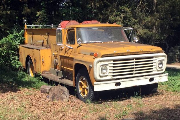 Chase's 1972 Ford Firetruck Find
