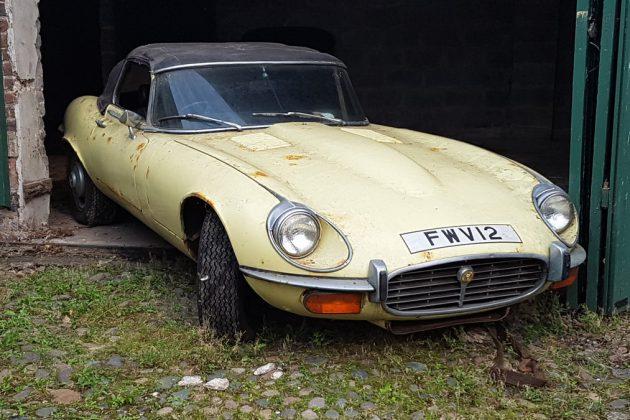 5.3 Liters Of Fun: 1972 Jaguar E-Type