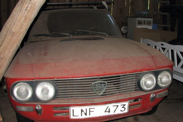 Italian In Sweden: 1972 Lancia Fulvia 1.3S