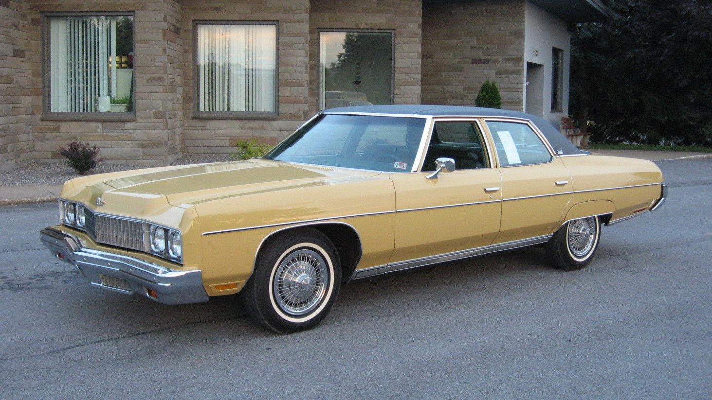 1973 chevrolet caprice with only 2 950 miles. Black Bedroom Furniture Sets. Home Design Ideas
