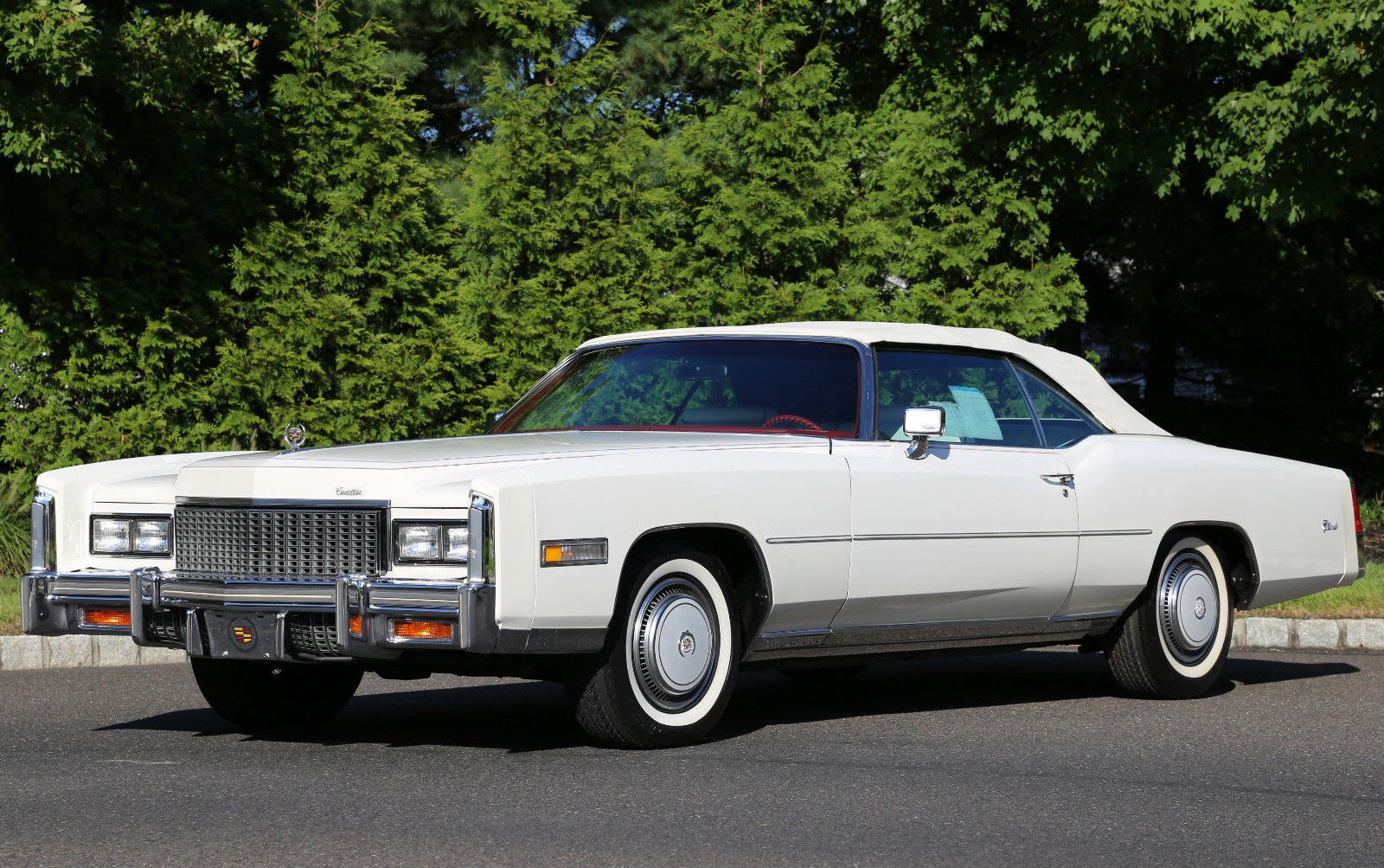 1976 cadillac eldorado with only 60 miles. Black Bedroom Furniture Sets. Home Design Ideas