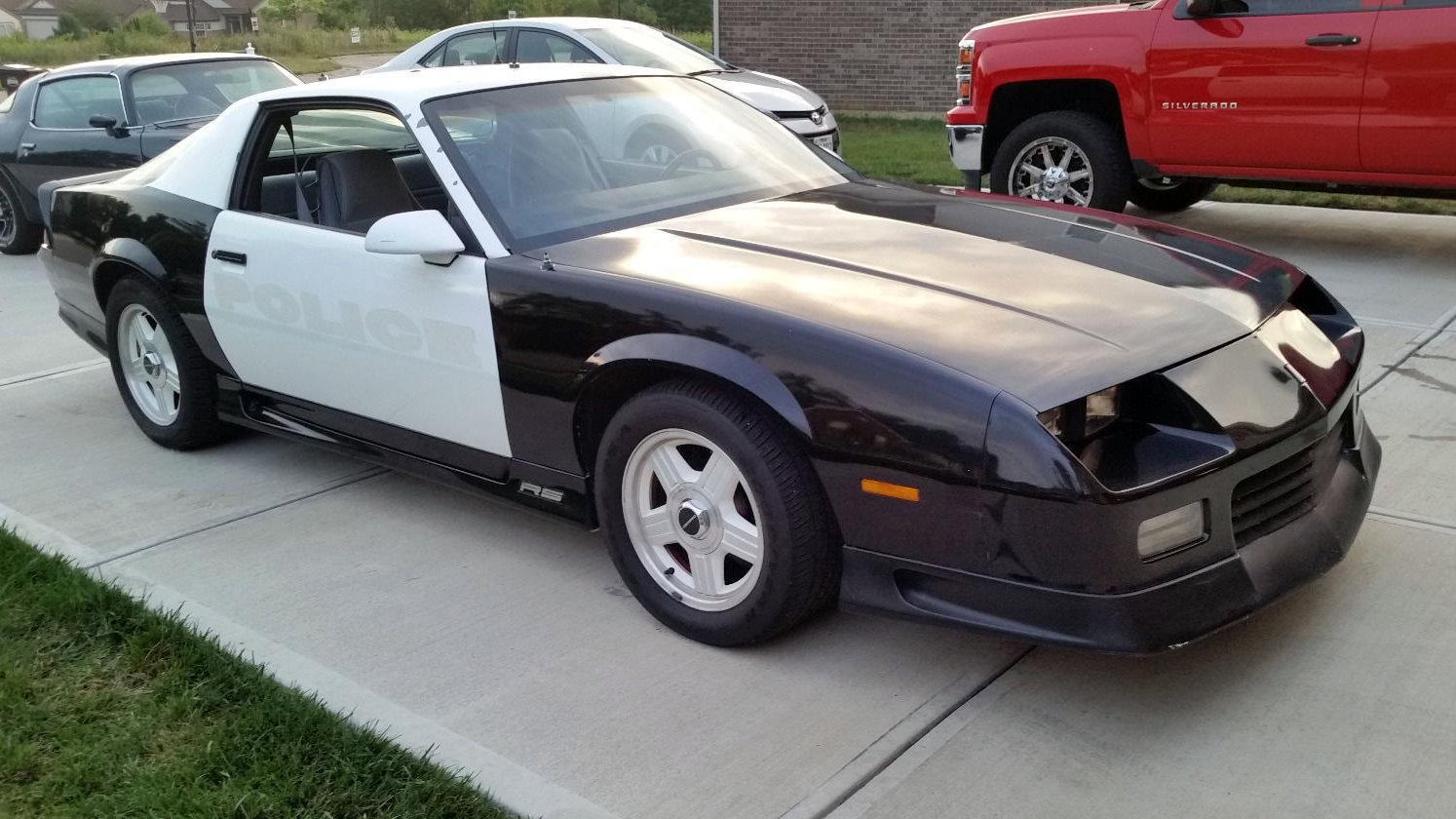 camaro 1991 b4c pursuit barnfinds chevrolet ultimate cars z28 police