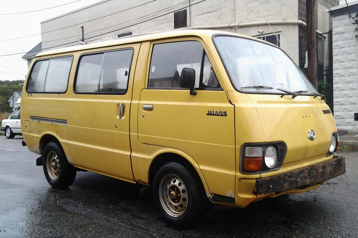 Toyota Trucks For Sale >> Jeff's New Project, Part 1: 1981 Toyota Hiace