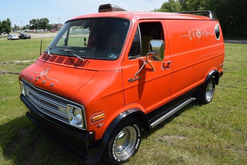 Dodge Cargo Van >> Shag Wagon: 1976 Dodge Tradesman Van