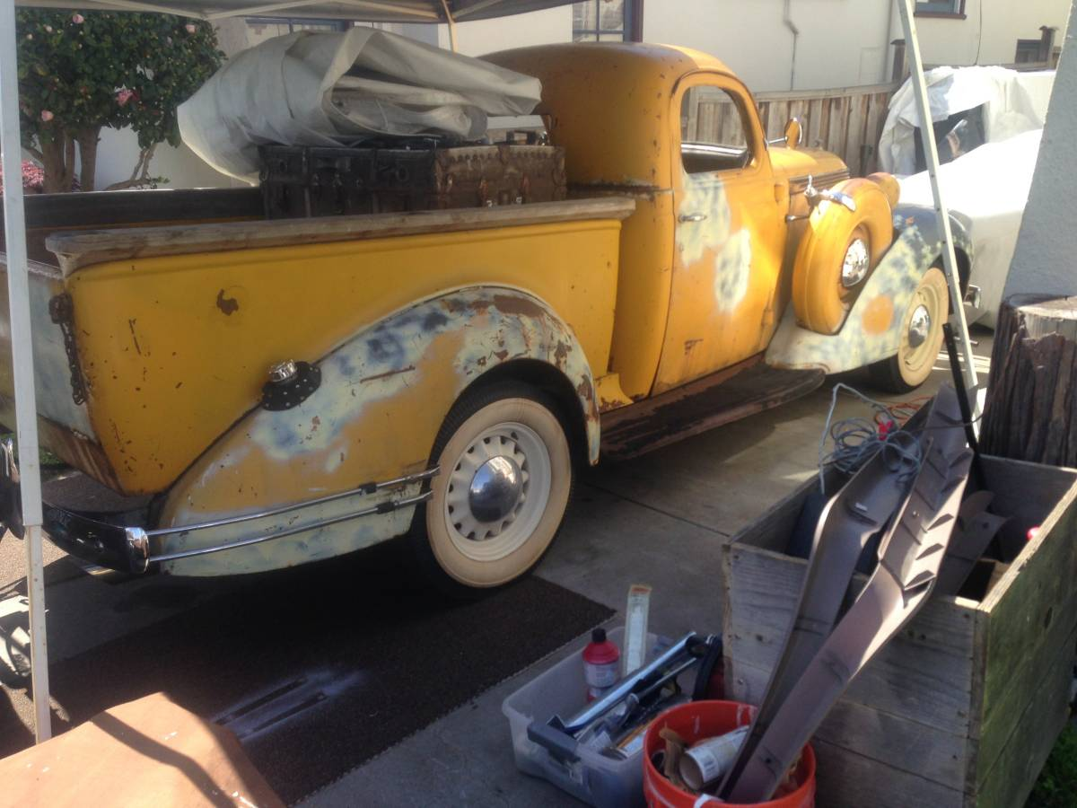Car Truck Craigslist >> Rare Pickup: 1937 Studebaker Coupe Express
