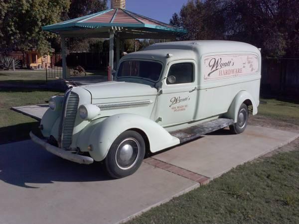Majestic Movie Star: 1937 Dodge Panel Truck