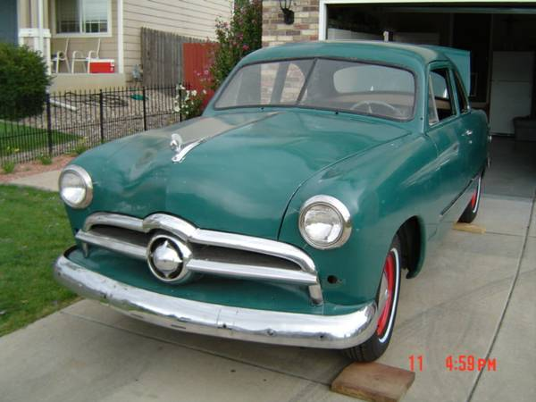 Cheap Coupe Project: 1949 Ford Coupe