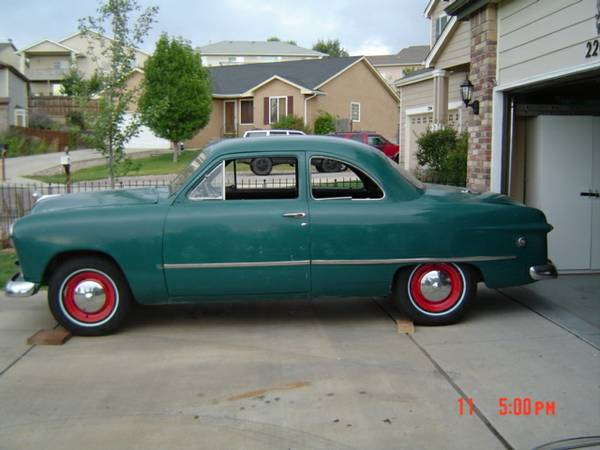 Cheap Coupe Project 1949 Ford Coupe