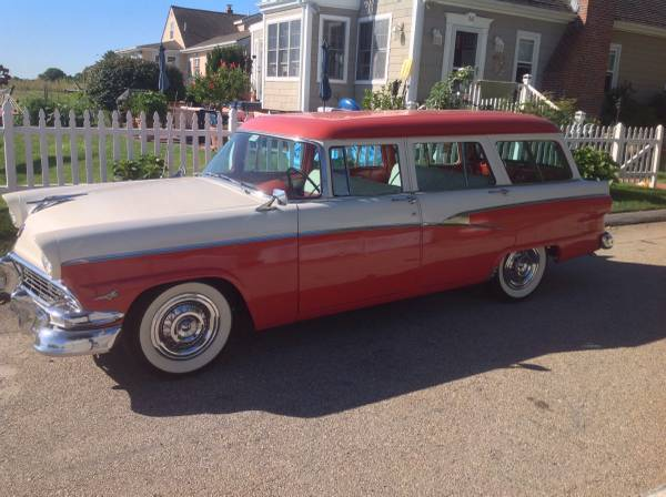 Used Car Auctions >> Six Passenger Survivor: 1956 Ford Country Sedan