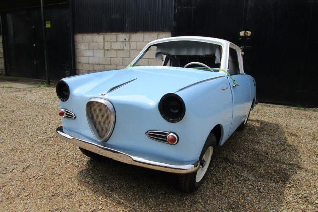 Micro Project: 1959 Goggomobil TS250