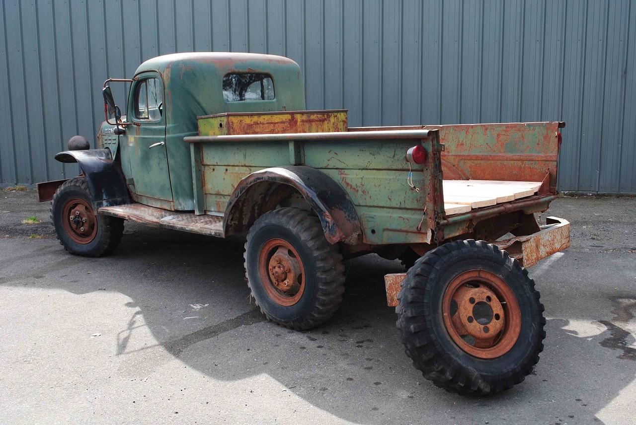 alaska forest truck 1960 dodge power wagon. Black Bedroom Furniture Sets. Home Design Ideas