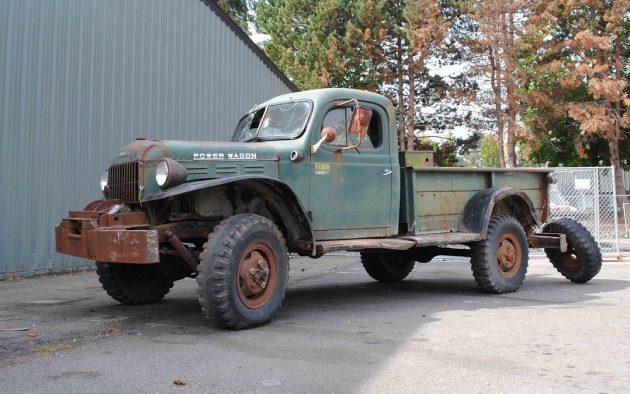 Alaska Forest Truck 1960 Dodge Power Wagon
