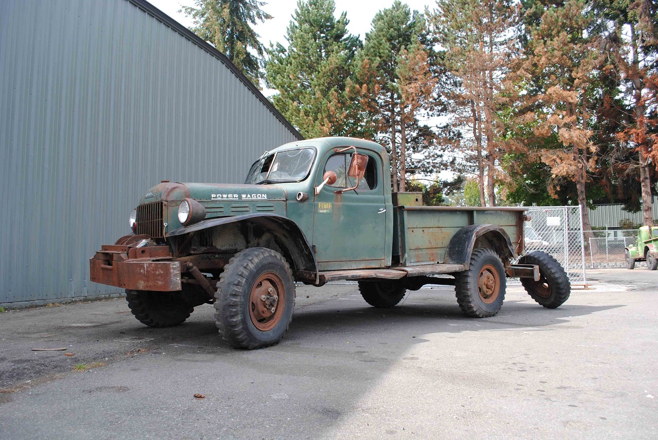 Alaska Forest Truck 1960 Dodge Power Wagon
