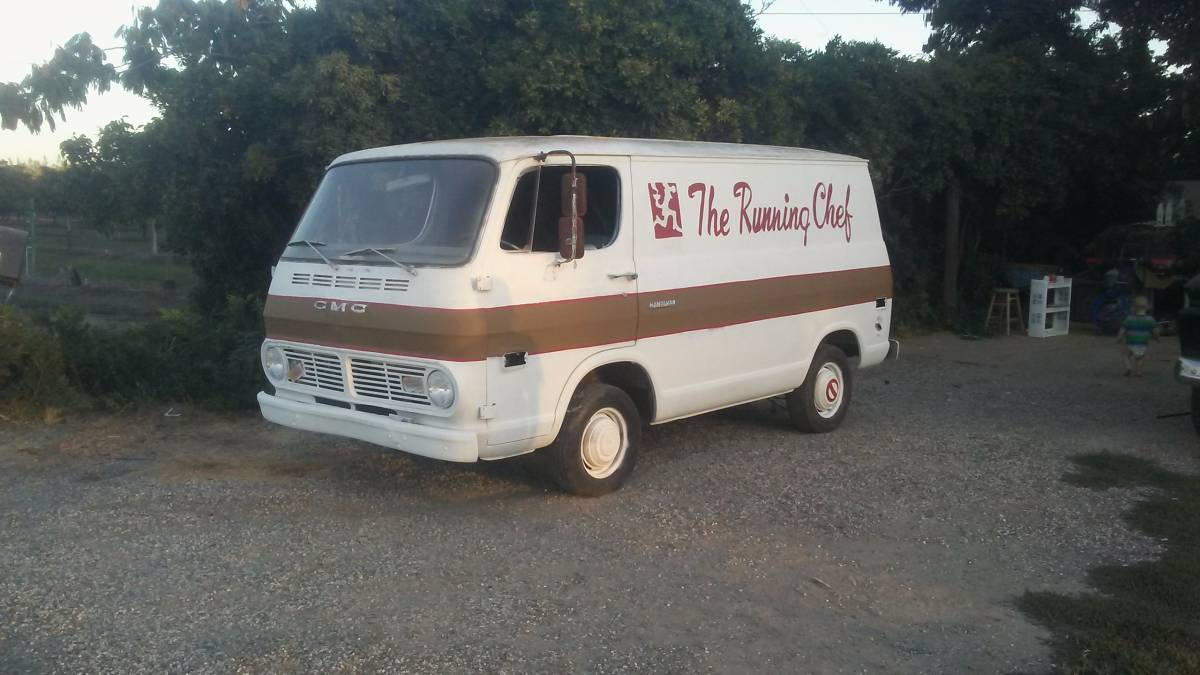 Cheap Work Van: 1968 GMC G10 Van