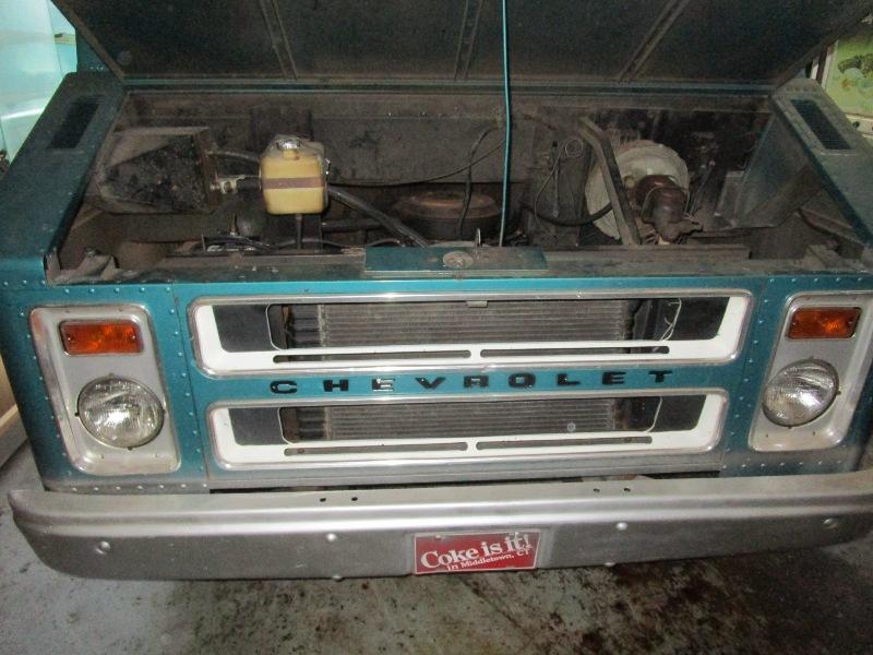 Step Van That Time Forgot  1973 Chevy P30