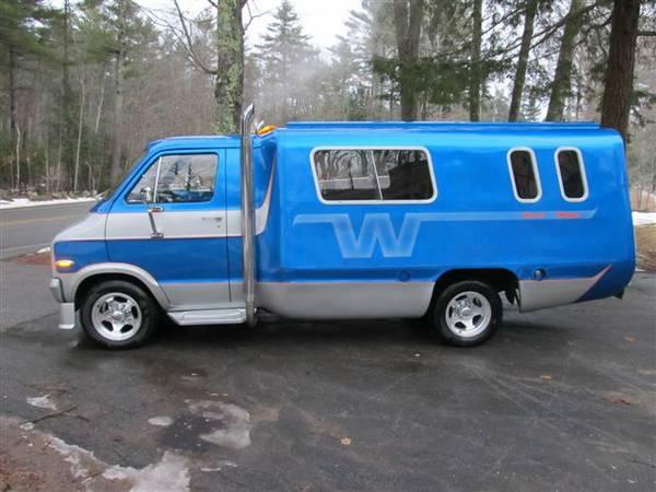 Far Out Winnebago: 1974 Dodge Winnie Wagon