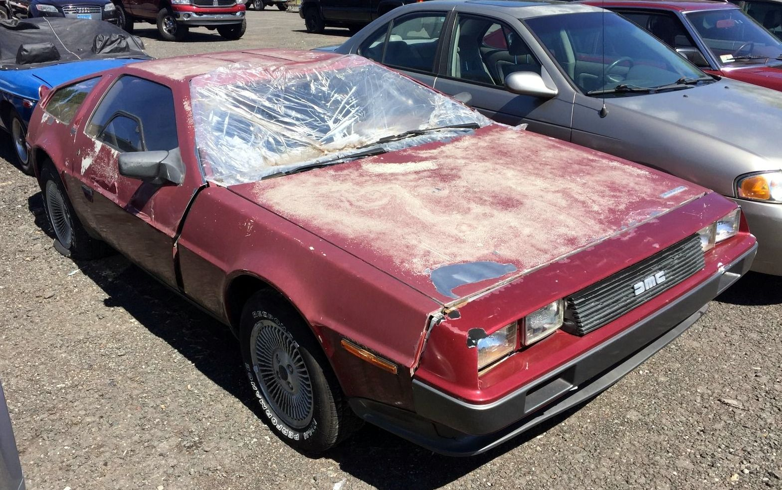 Abandoned Gamble 1982 Delorean Dmc 12
