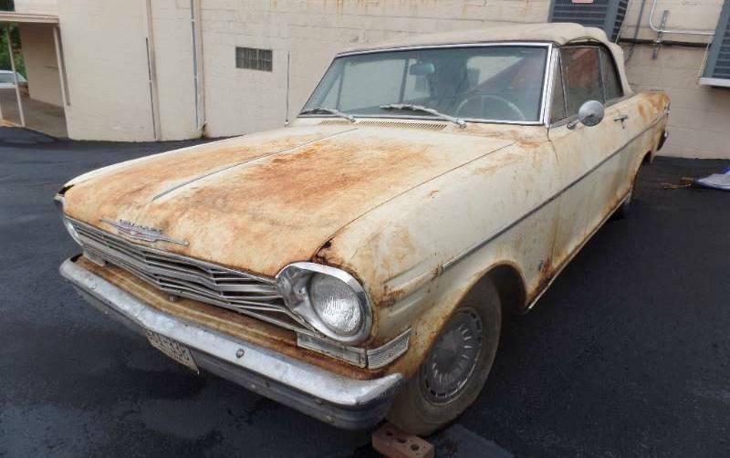 1962 Chevrolet Nova Convertible For  400