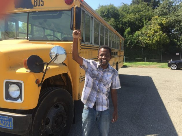 Update: New Life For Seven Old School Buses