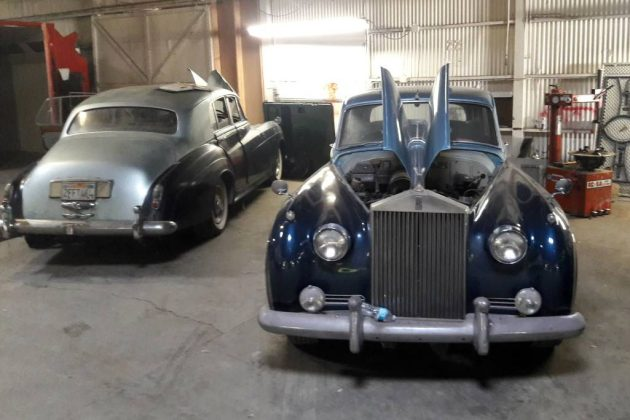 Seeing double: 1957 Rolls and 1959 Bentley