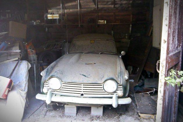 Rare Bird: 1966 Triumph TR4a Dové