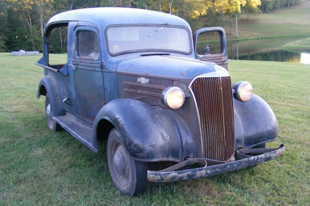 Stored For 30 Years: 1937 Chevrolet Canopy Express