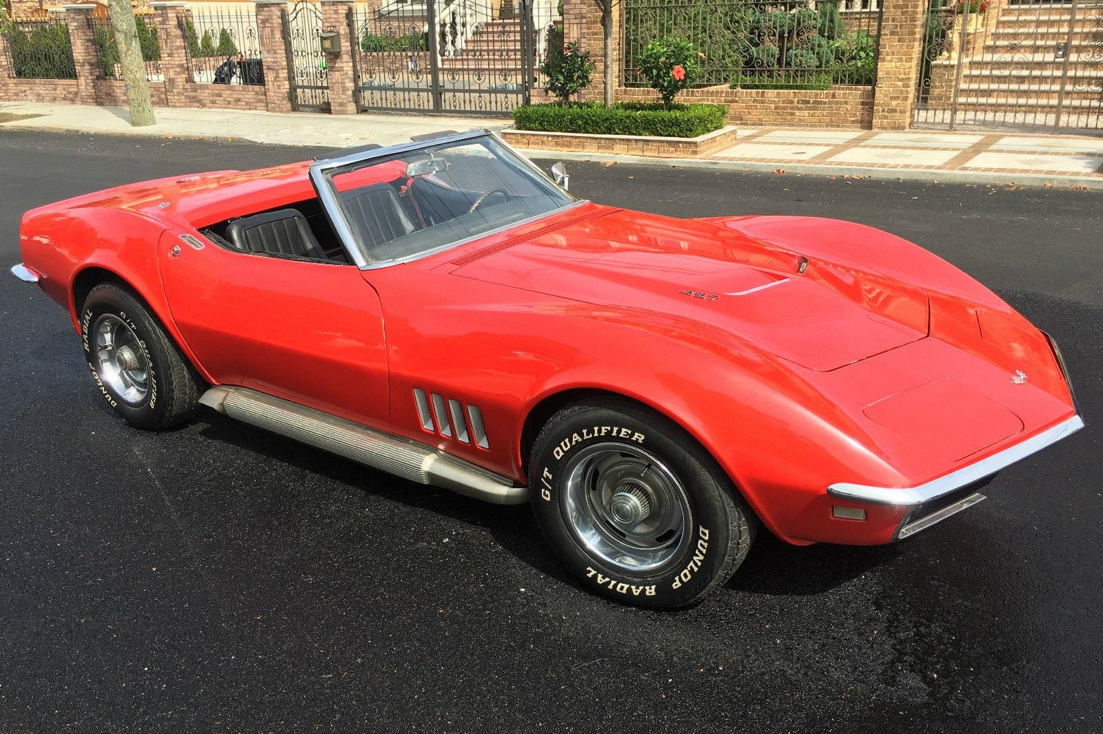 Big Block Driver 1968 Corvette Convertible