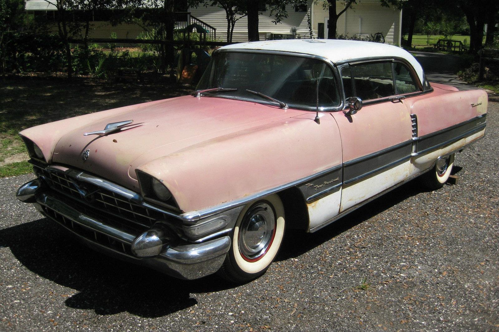 Rust Sheet Metal >> Pink & Push Buttons! 1956 Packard 400