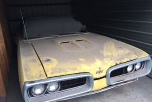 Stored in '94: Dodge Coronet R/T 440 Convertible