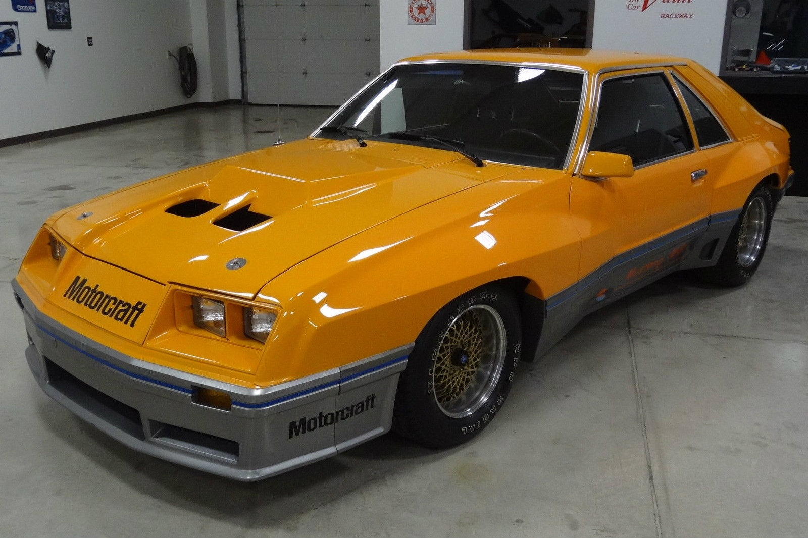 Ford Mustang Color >> 1980 M-81 McLaren Mustang Prototype With 74 Miles!