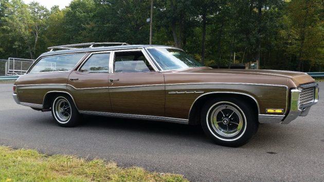 Classy & Huge! 1970 Buick Estate Wagon