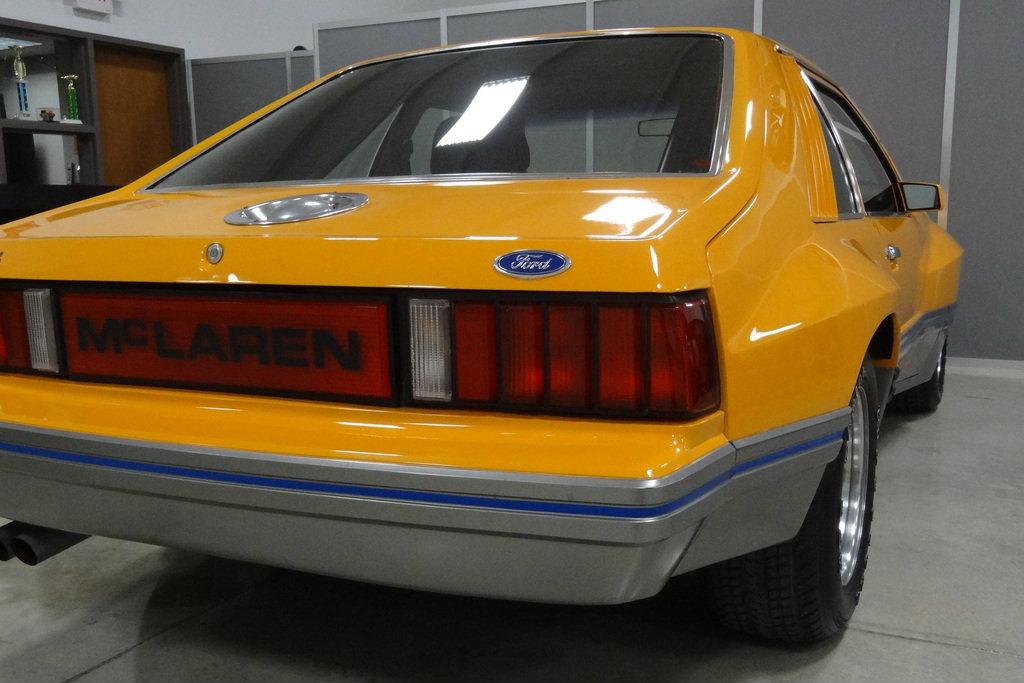 1980 M 81 Mclaren Mustang Prototype With 74 Miles