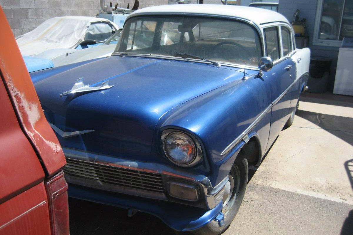 Starts Amp Runs For 3 500 1956 Chevrolet 210