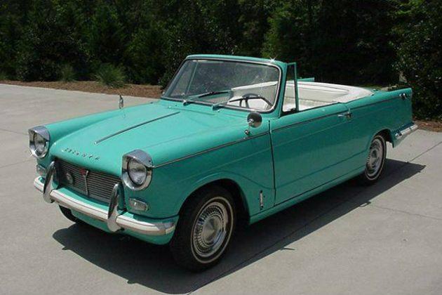 Jewel Like: 1966 Triumph Herald Convertible