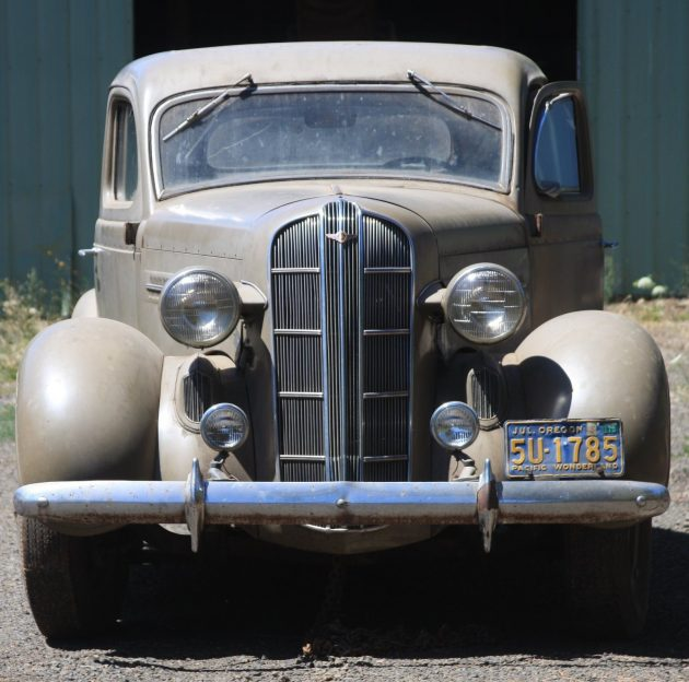 Wind Stream Style: 1936 Dodge Coupe