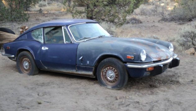 Marriage Killing Project: 1973 Triumph GT6