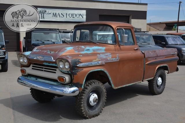 Trucks For Sale In Colorado >> Big & Tall! 1959 Chevrolet NAPCO 4X4