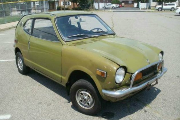 Cheap Thrills 1972 Honda 600 Coupe