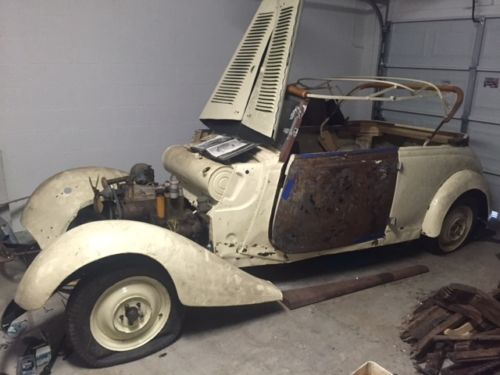 Assembly Required 1939 Mercedes Benz 170v