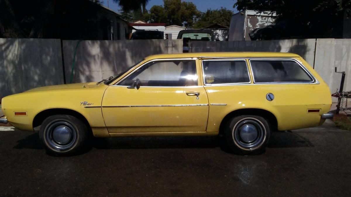 Sad Little Pony 1973 Ford Pinto Wagon