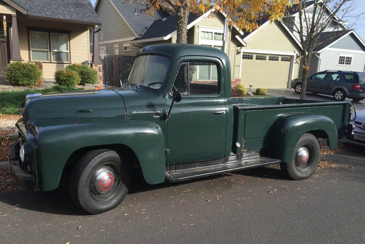 Nice Old Truck: 1955 International R112 Pickup